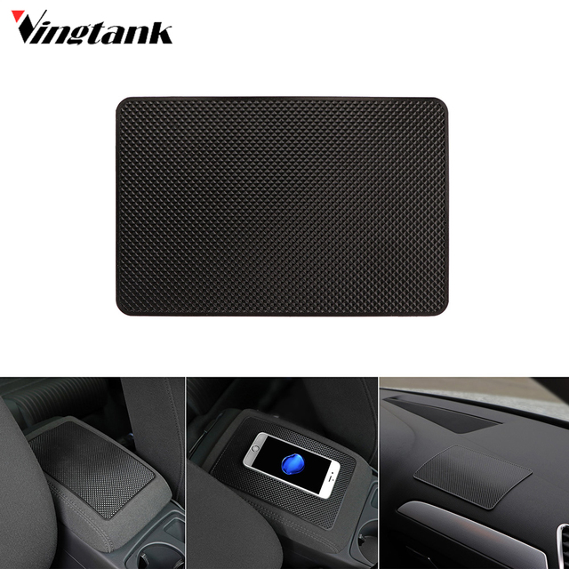 c60abae7819 Vingtank Universal Slim Silicon Car Anti-slip Pad Phone Holder Non-slip  Dashboard Mat 8 5 inch Car-styling Car Accessories