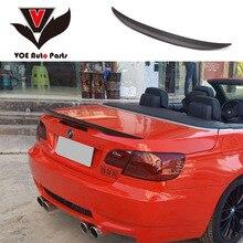 E93 производительность Стиль углеродное волокно задний багажник спойлер для BMW 3 серии E93 325i 328i 330i 335i 2 двери 2007-2013