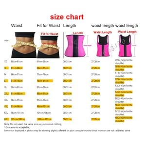 Image 3 - בגד גוף  חגורת הרזיה  לטקס מחוך דוגמנות רצועת מותן מאמן Slim חגורת בטן shapewear הרזיה מעצבים ומעצב מותניים הרזיה רצועת Shapewear