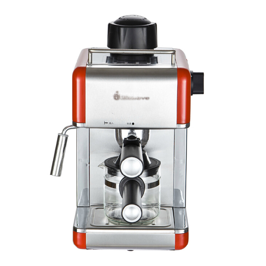 CM6812 Semi Automatic Espresso Coffee Maker Italian Coffee Machine Steam Type Cafe Mocha Caramel Macchiato Coffee Maker 800WCM6812 Semi Automatic Espresso Coffee Maker Italian Coffee Machine Steam Type Cafe Mocha Caramel Macchiato Coffee Maker 800W