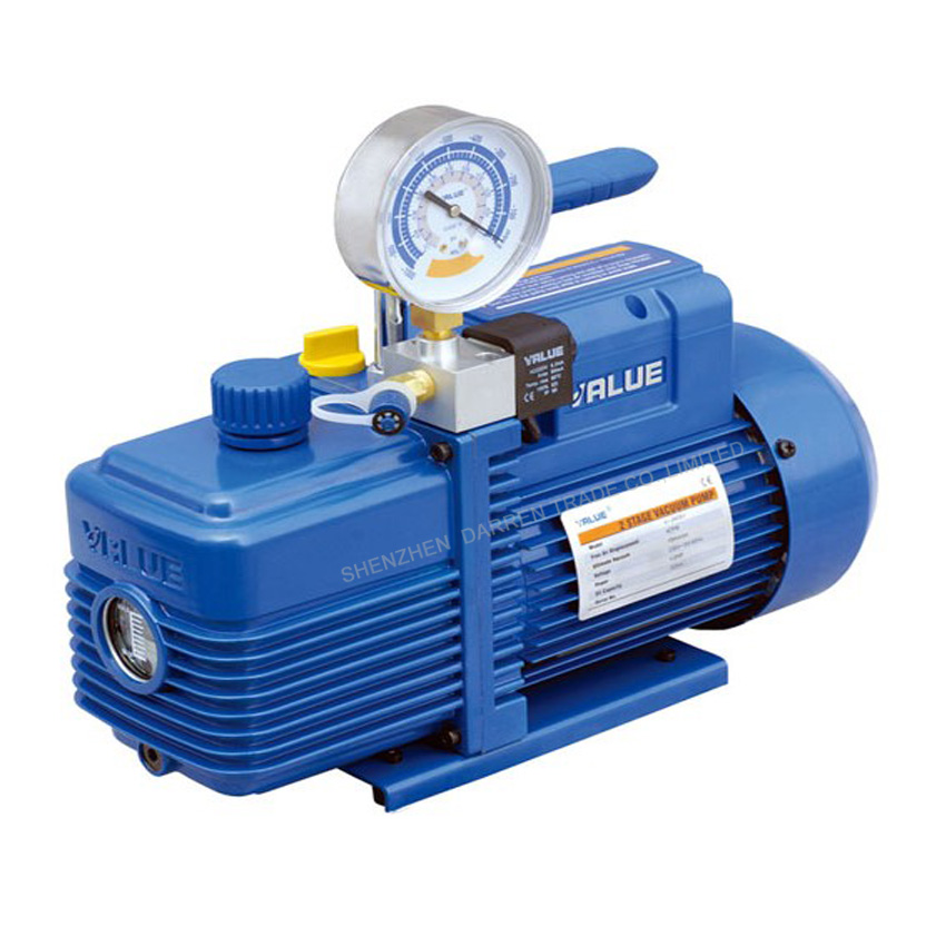 US $130 15 9% OFF|1PC New refrigerant vacuum pump suit for  R410a,R407C,R134a,R12,R22 refrigerate 220V-in Pumps from Home Improvement  on Aliexpress com