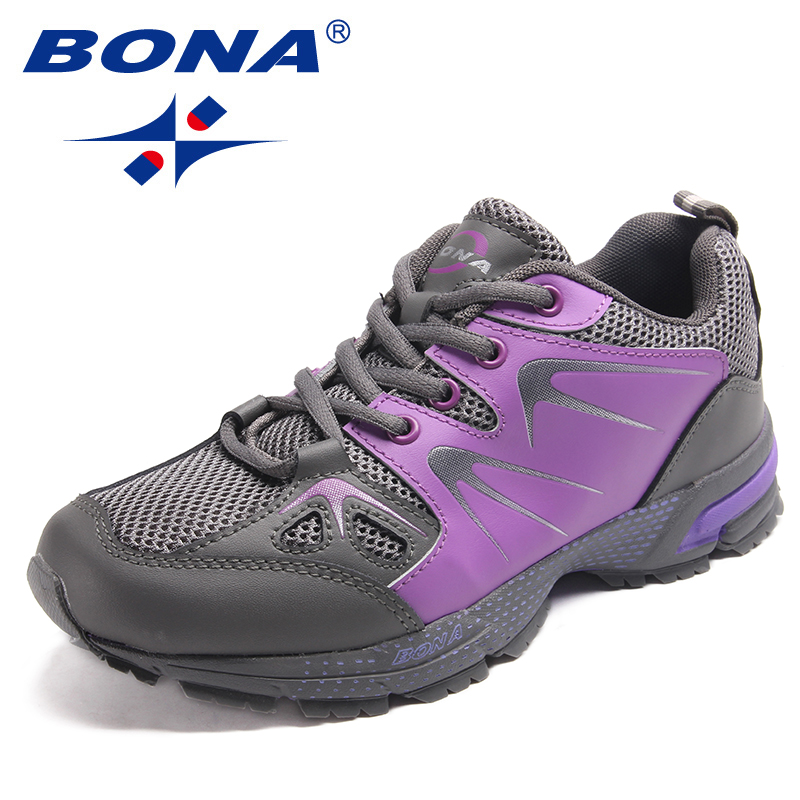 BONA New Arrival Classics Style Women Running Shoes Lace Up Women Sport Shoes Outdoor Jogging Sneakers Light Fast Free Shipping