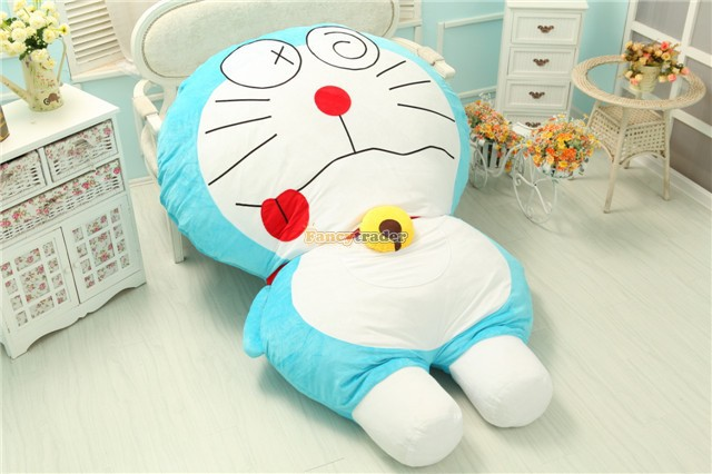 Fancytrader New Style Cute Doraemon Bed 200cm X 150cm Huge Giant Doraemon Tatami Carpet Sofa Toy, Model 6 Free Shipping FT90273 fancytrader 220cm x 150cm huge giant cute garfield bed carpet sofa tatami great gift free shipping ft90351