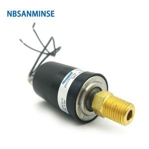 Image 1 - SMF08A 1/8 1/4 yüksek akım basınç anahtarı sabit Set noktası otomatik sıfırlama hava su basınç anahtarı yüksek kaliteli NBSANMINSE