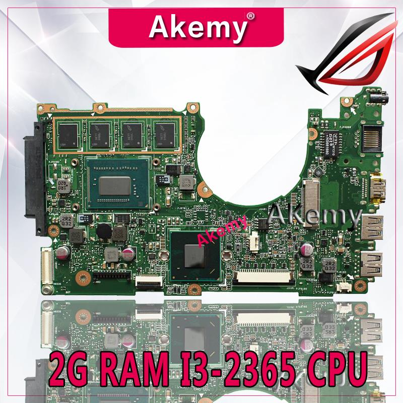 Akemy X202E Laptop motherboard for ASUS X202E X201E S200E X201EP Test original mainboard   2G RAM I3-2365 CPUAkemy X202E Laptop motherboard for ASUS X202E X201E S200E X201EP Test original mainboard   2G RAM I3-2365 CPU