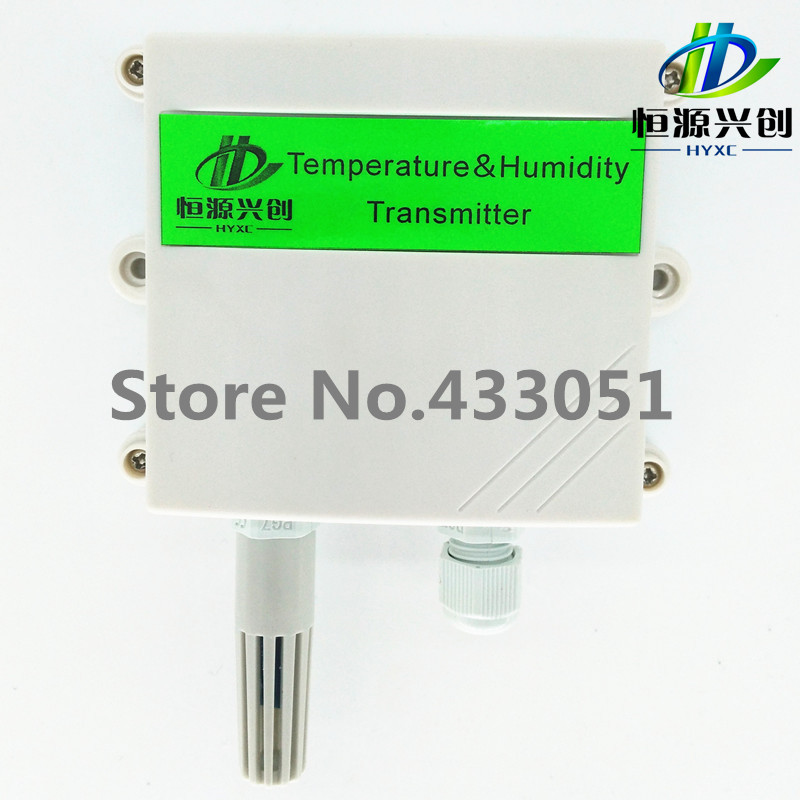 Integrated temperature and humidity transmitter Output :4-20mA/0-10V/0-5V/RS485 Temperature and humidity sensor universal input pc programmable temperature head transmitter 4 20ma analouge output tmt902b