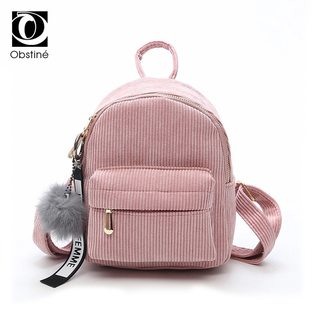 e768cf6f40 2018 Cute Women Backpack for Teenage Girls Children Pink Mini Back Pack  Kids Fashion Daypack with