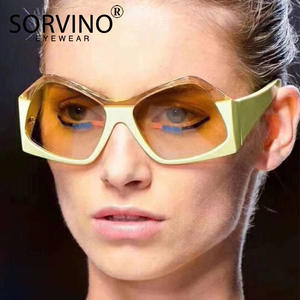 2ca08d4b11b03 SORVINO Sunglasses 2018 Women Retro Lady Sun Glasses