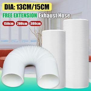 Image 2 - Portable Air Conditioner Parts Diameter 13cm/15cm Exhaust Hose Tube Free extension Flexible DIY Home For Air Conditioner Tools
