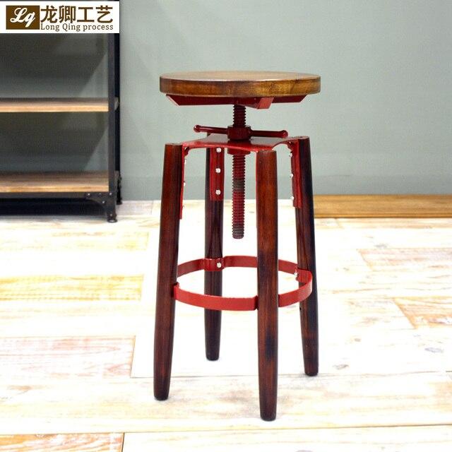 pas de amrica loft estilo industrial escritorio sillas pueden levantar sillas taburete de bar muebles de