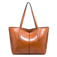 Vintage Artificial Leather Women Handbags Totes Large Capacity Practical Women Shoulder Bags Fashion Handle Bag For All Seasons 2018 new arrival fashion leather woman handbags shoulder bags top handle bags totes vintage bag for women m2150
