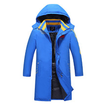2017 The nationwide crew Chinese wind winter coat Parka thick heat cashmere lining cotton informal trend lengthy jacket