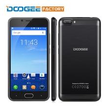 Стрелять 2 5.0 дюймов Экран HD Смартфон Doogee MT6580A Quad Core сотовый Телефон 2 ГБ RAM 16 ГБ ROM Двойная Камера Android 7.0 Мобильный Телефон телефон