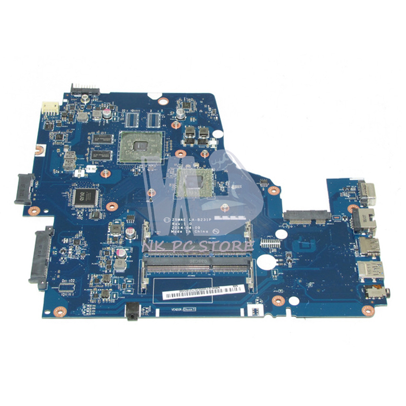 NBMLG11005 NB.MLG11.005 For Acer aspire E5-521 E5-521G Laptop Motherboard Z5WAE LA-B231P CPU Onboard with Discrete Graphics nbmlg11005 nb mlg11 005 for acer aspire e5 521 e5 521g laptop motherboard z5wae la b231p cpu onboard with discrete graphics