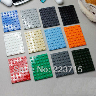 Free Shipping!*Plate 6x8* DIY enlighten block bricks,Compatible With Assembles Particles free shipping the tian an men diy enlighten block bricks compatible with other assembles particles
