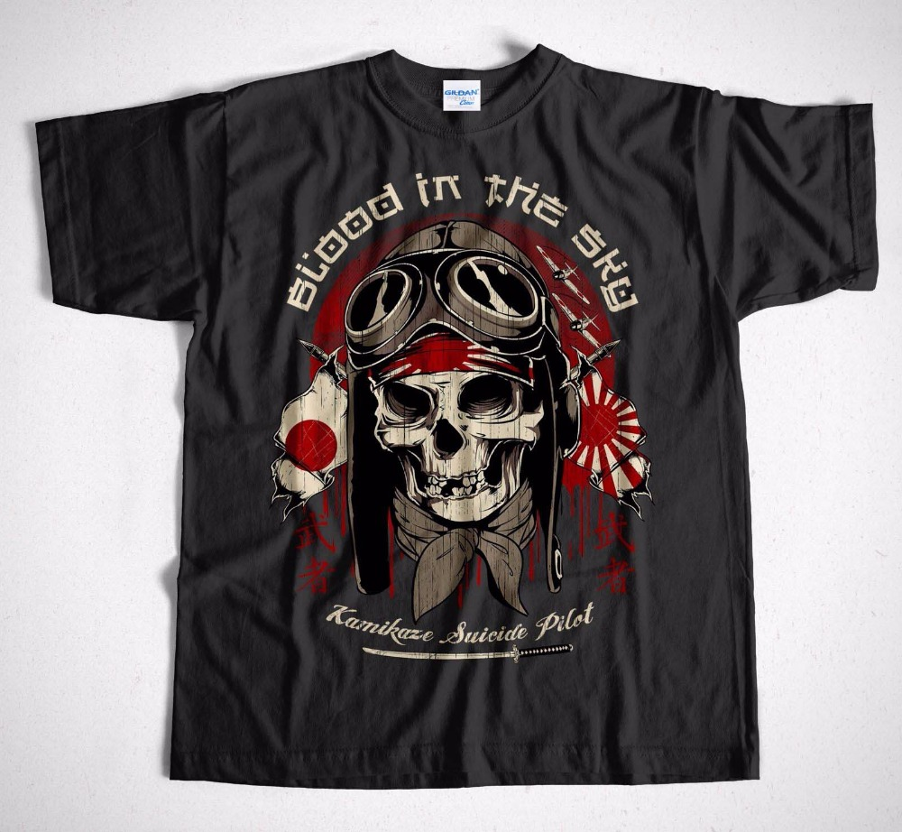 2018 Men Fitness Clothing   T  -  Shirt   Rocker 33 S-3XL Skull Rider Route 66 Biker Custom Chopper Motorrad printed Tee   shirt