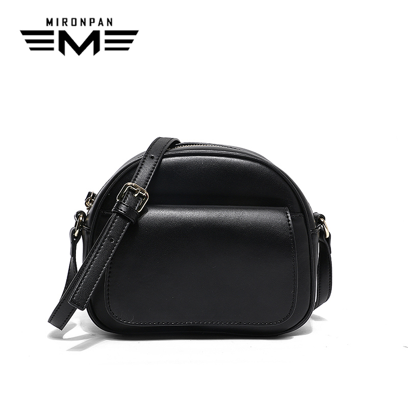 Здесь можно купить  MIRONPAN 2018 Elegant Ladies Genuine Leather Handbags Single Straps Shoulder Bag For Women Zippe Shopping Business Handbags  Камера и Сумки