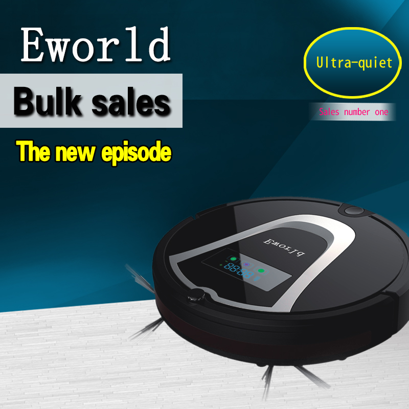 цена на Eworld M884 Cleaning Robot Vacuum Cleaner Cleaner Automatic Vacuum Robot Floor Cleaner for Hardwood Flooring and Hard Carpets