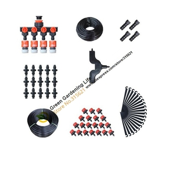 4/7 to 8/11mm 2+20mDIY Micro Drip Irrigation System Plant Automatic Self Watering Garden Hose Garden Watering System