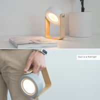 Creative LED Lantern Night Light Portable Extensible Folding Protection Eye Table Lamp USB Power For Gift Ambient Light