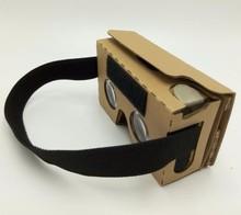120pcs Newest Google Cardboard 2.0 oculus rift VR Virtual Reality 3d Glasses Cardboard V2 For 3.6 – 6 inch iPhone Andriod Phones