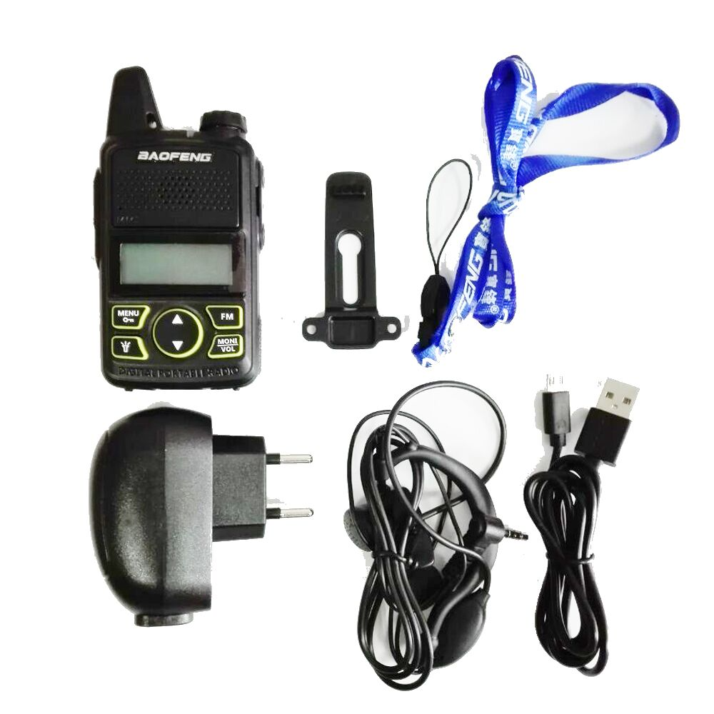 Image 5 - 2pcs/lot BAOFENG T1 MINI Two Way Radio BF T1 Walkie Talkie UHF 400 470mhz 20CH Portable Ham FM CB Radio Handheld Transceiver-in Walkie Talkie from Cellphones & Telecommunications