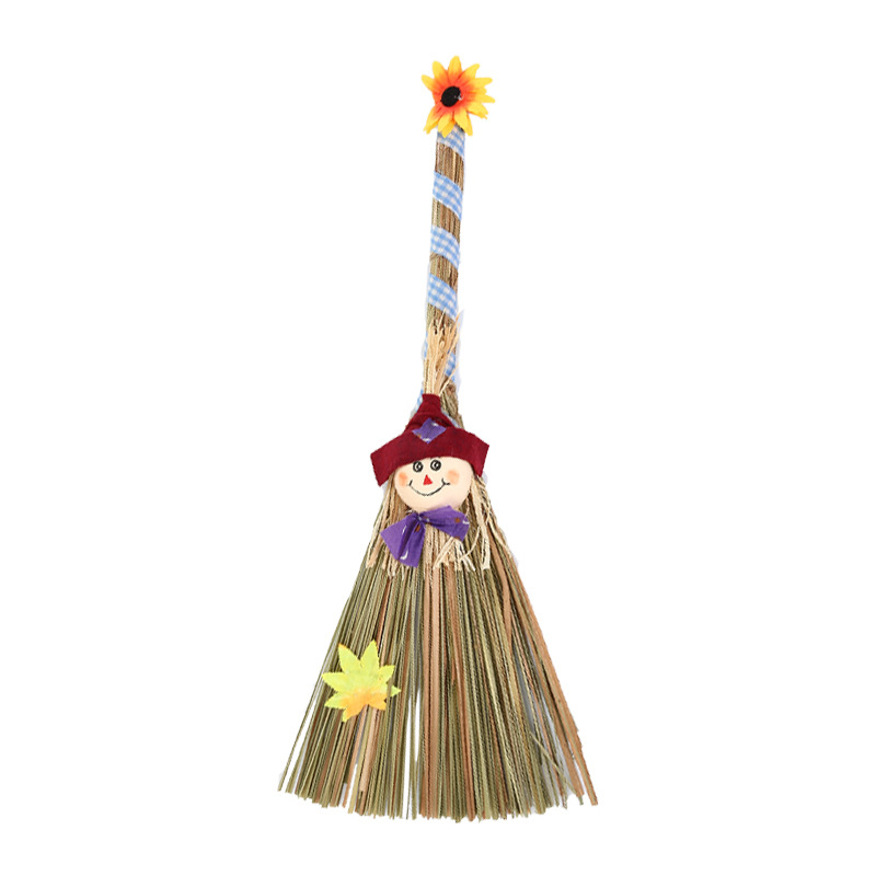 Witches Broom Anime Cosplay for Witch Decoration Vestidos Costumes Role Prop in Halloween Carnival Party