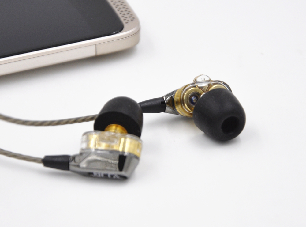 VJJB V1 V1S 4 Speakers HIFI Quality Sound Metal In Ear Earphone Earbud Double Circle Hifi Subwoofer Monitor Earphones Earbuds