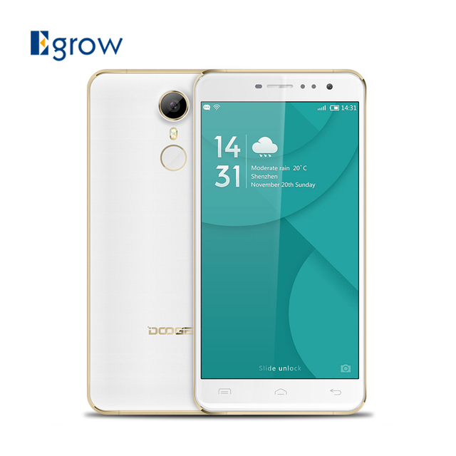 Original DOOGEE F7 Pro MT6797 Deca Core Mobile Phone Android 6.0 Cell Phones 32GB ROM Fingerprint Touch ID 4G Smartphone