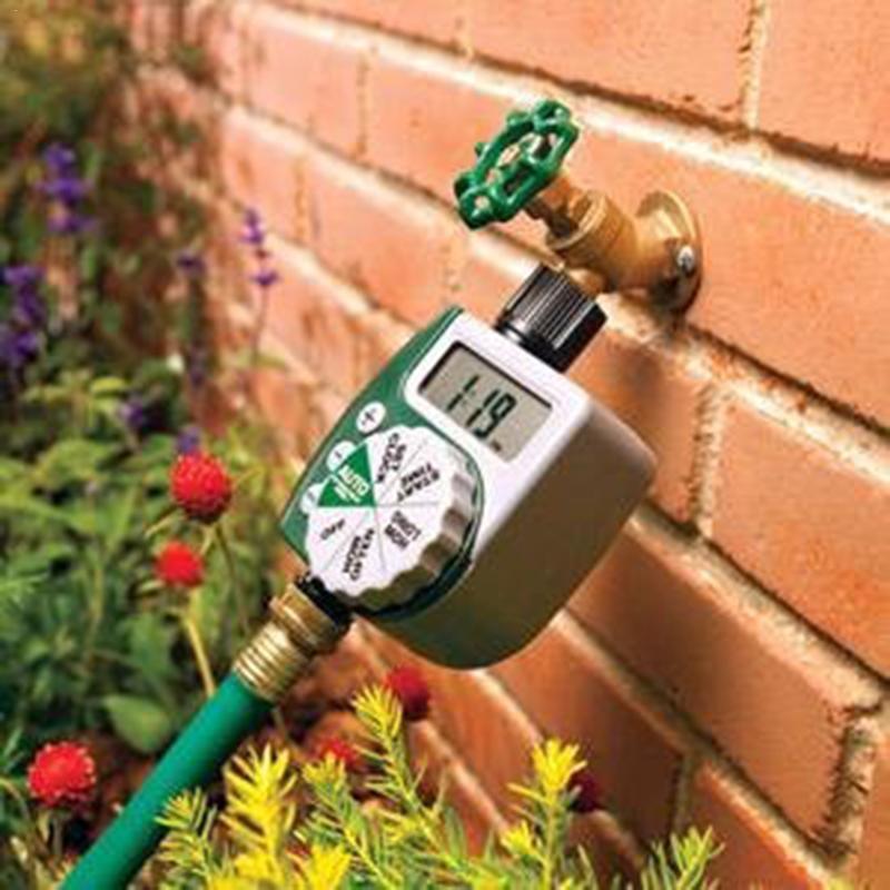 EU/US Standard LCD Screen Garden Irrigation Controller Lawn Solenoid Valve Timer Garden Automatic Garden Water Timer