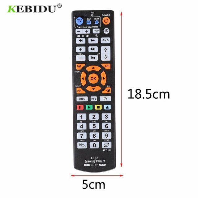 Kebidu ため L336 赤外線リモコンユニバーサルスマート · リモート · コントロールコントローラ学習機能テレビ cbl dvd 土 l336