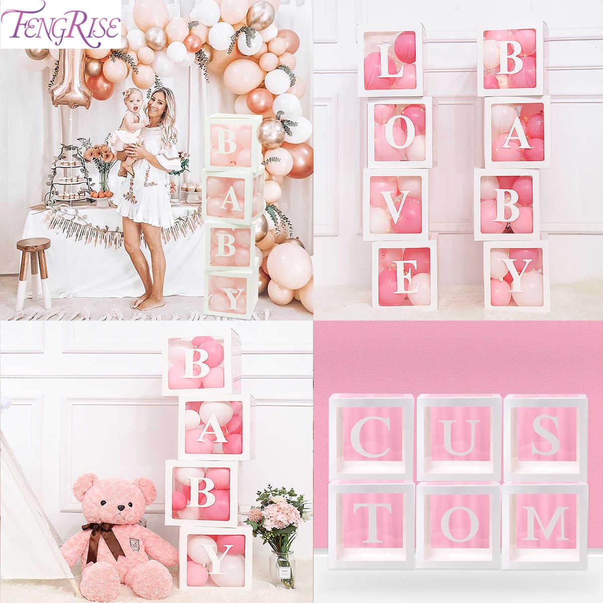 Cajas Bautizo.Caja De Letras Para Nino Nina Baby Shower Cumpleanos Fiesta