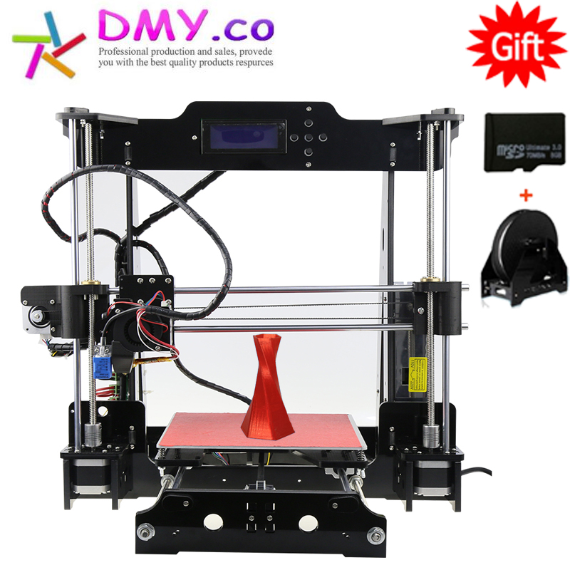 2017 High Quality 3D Printer support Auto Leveling Metal High Precision Large Printing Size Prusa i3