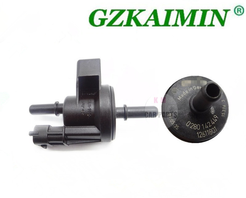 US $15 72 6% OFF|High Qaulity For G M Evaporatpr Emission Canister Purge  Solenoid Valve OEM ACDELCO 214 1685 12611801 0280142449 -in Pressure Sensor