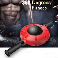 Abdominal Workout Ab Roller Wheel 360 Degree Exercise Equipment Non Slip Rubber Handle Fitness Roller Abdominales Muscle Trainer