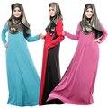 Мусульманин платье абая исламской одежды для Женщин С Длинными Рукавами турецкая одежда мусульманин платье исламский абая WL2423