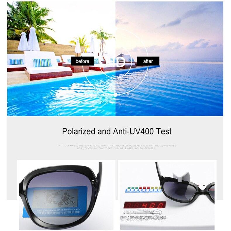 Роскошные поляризованные солнцезащитные очки Женская винтажная, брендовая, дизайнерская Высококачественная Солнцезащитная очки для вождения для женщин модные женские солнцезащитные очки (9)
