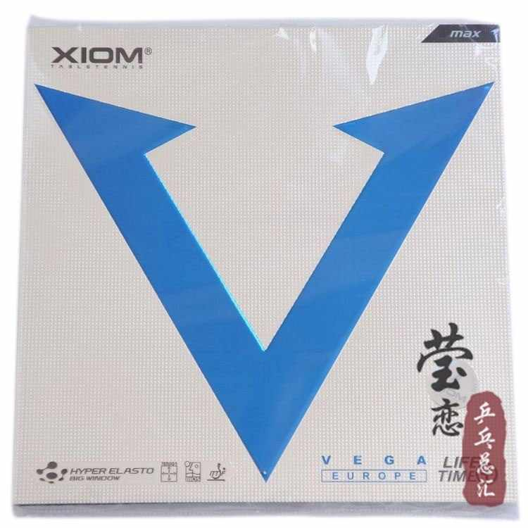 Original Xiom VEGA EUROPE 79-008 table tennis rubber made in Germany backhand table tennis racket racquet sports indoor sports