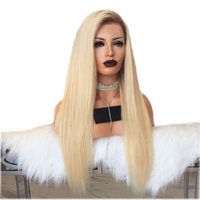 DLME 180% Density Honey Blonde Wig With Baby Hair 26Inch Ombre Lace Front Wig Glueless Heat Resistant Synthetic Wigs For Women