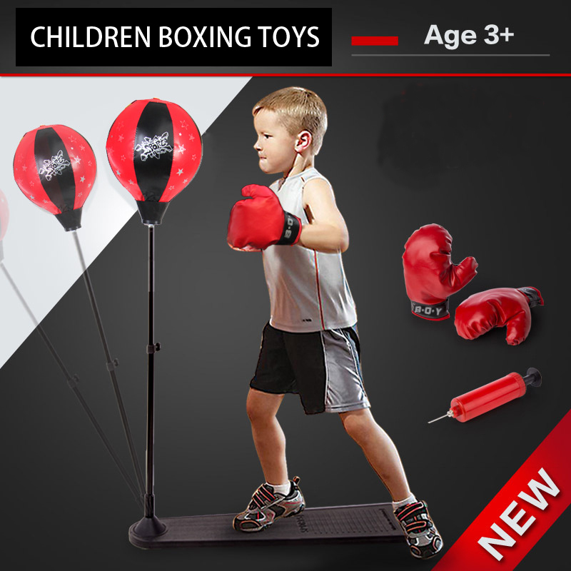 85~130CM Adjustable Toy children boxing gloves toys
