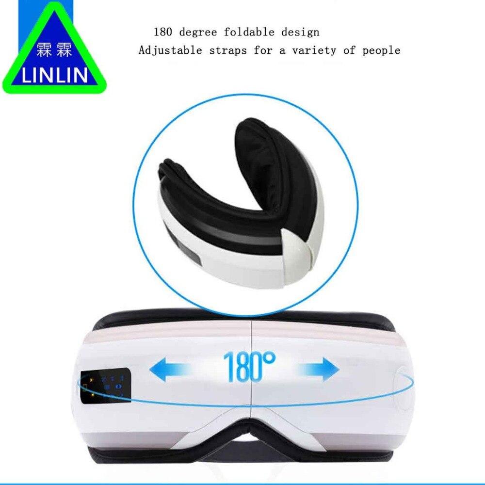LINLIN Nieuwe draadloze Bluetooth eye massager, elektrische oogbescherming instrument, eye massager, student oogbescherming.-in Huidverzorgingshulpmiddelen van Schoonheid op AliExpress - 11.11_Dubbel 11Vrijgezellendag 1