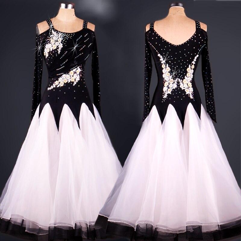 2018 standard ballroom dress ballroom dance competition dresses tango dress woman