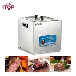 1000 watów cyfrowy Sous Vide Pod zanurzeniowym obiegiem kucharz kuchenka zawiera stoper cyfrowy w Roboty kuchenne od AGD na