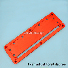 цена на 1PCS Woodworking Electric Circular Saw Flip Cover Plate Aluminium Insert Plate for Table Saw JF1706