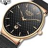 LIGE Fashion Luxury Brand Women Quartz Watch 5
