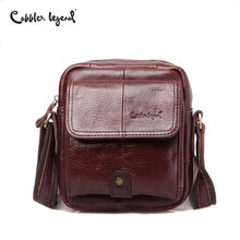 Cobbler Legend Genuine Leather Bag Men High Quality Vintage Luxury Handbag Shoulder Small Crossbody Designer