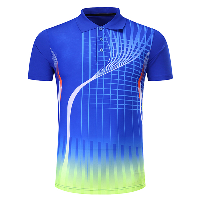 New Quick dry Name Badminton shirt Men/Women , Tennis t-shirts , sports table tennis shirt , pingpong t-shirt 210AB