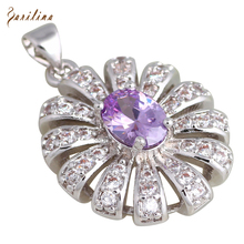 hot deal buy charismatic pendants fashion jewelry amethyst topaz necklaces pendants for womens p280