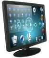 22 дюймов рабочего видеоняни / промышленный компьютер видеоняни / из светодиодов 5-Wire резистивный сенсорный экран монитора