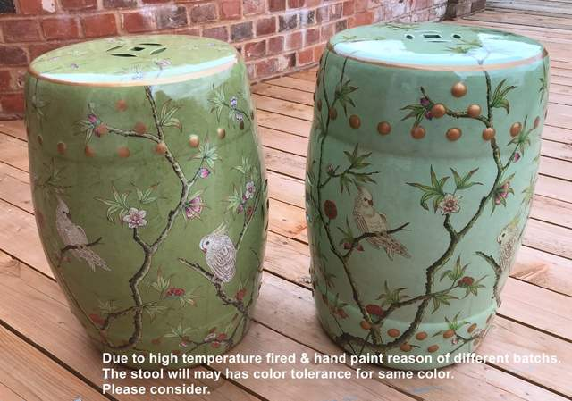 Peachy Modern Chinese Tall Parrot Ceramic Stool For Garden And Home Furniture Accessories Uwap Interior Chair Design Uwaporg